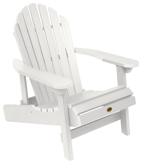 Exceptionnel Hamilton Folding And Reclining Adirondack Chair, White