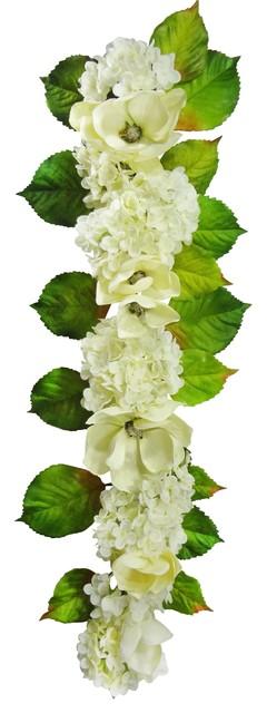 48 Magnolia, Hydrangea Garland.