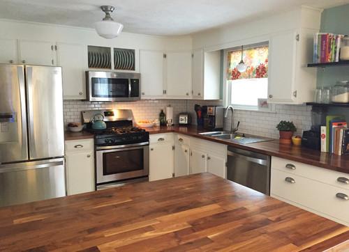 A DIY Kitchen Remodel in Massachusetts