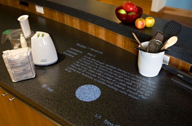 Coming Soon Turn Your Kitchen Counter Into A Touch Screen