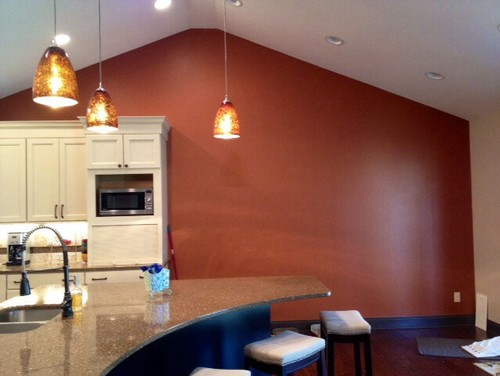 Large blank kitchen wall for Blank kitchen wall ideas