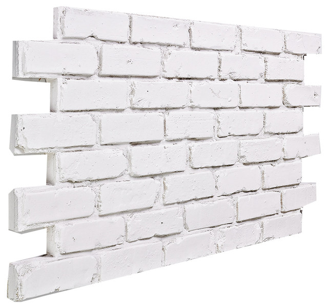 Buyfauxsone chicago brick wall panel almond traditional for What is brick veneer siding
