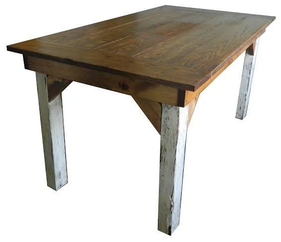 60 Rustic Reclaimed Late 1800 S Barnwood Farm Table Natural Varnish