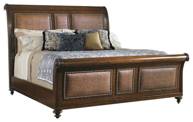 Palmera Sleigh Bed 6/0 California King.