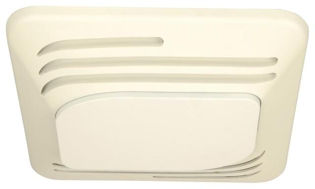 Craftmade Fresh Air Series 80 Cfm Silent Fan Light, Designer White.