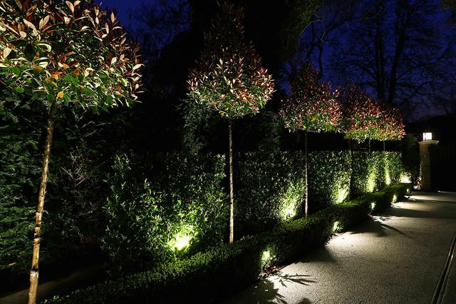 Garden Lighting Design Contemporary