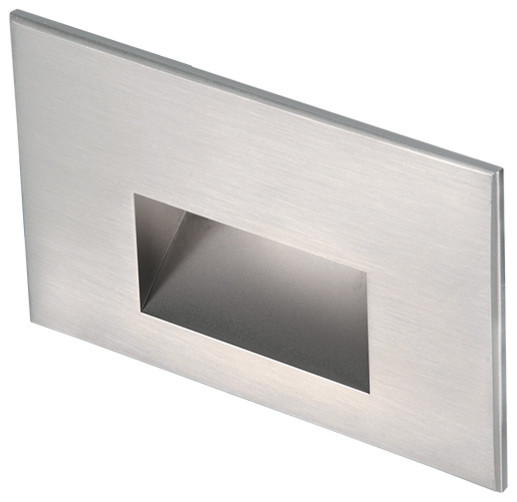 LED 12V LED Me Horizontal Step And Wall Light, Stainless Steel - Stair And Step Lights - by WAC ...