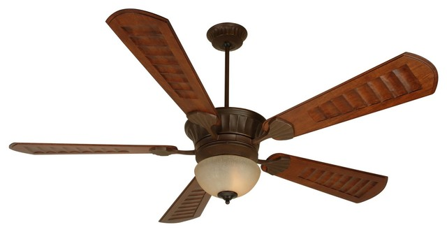 "Craftmade K10684 Dc Epic 70"" 5-Blade Indoor Ceiling Fan, Aged Bronze"