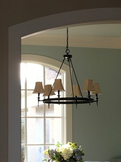 Round Torch Chandelier Look Alike For Pottery Barn