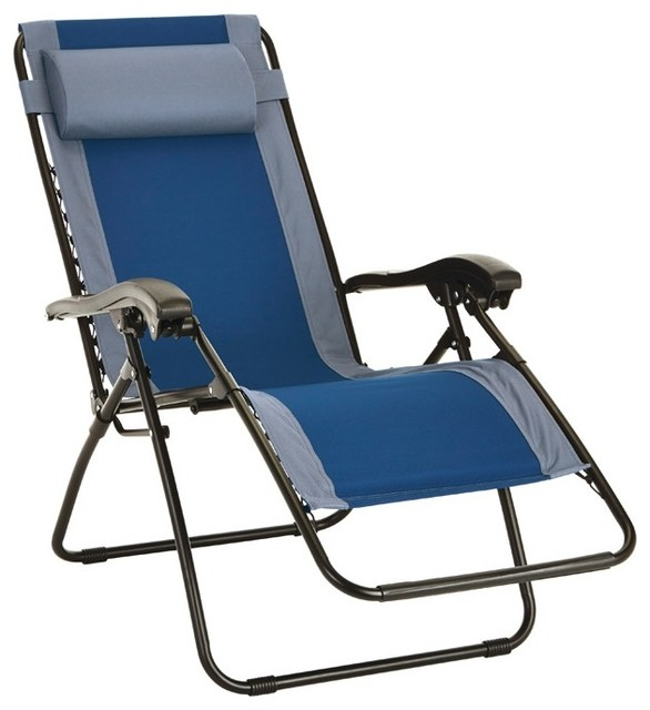 Living Accents Adjustable Backrest Relaxer Chair 250 Lb