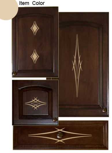 Kitchen Cabinet Decals Barbs Theme Contemporary Wall By Jds Enterprises Houzz