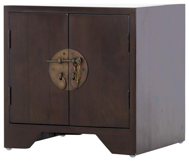table de chevet style asiatique table de lit. Black Bedroom Furniture Sets. Home Design Ideas