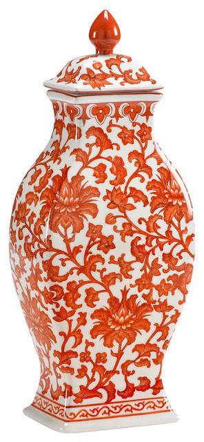 Chelsea House Canton Rectangular Vase 381893 Par Asian