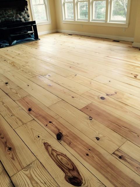 Refinishing Wide Plank Pine Floors Craftsman New York