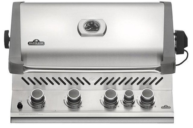 "Napoleon 31"" Built-In Natural Gas Grill 1, Frared Rear Burner 66,000 Total Btu."