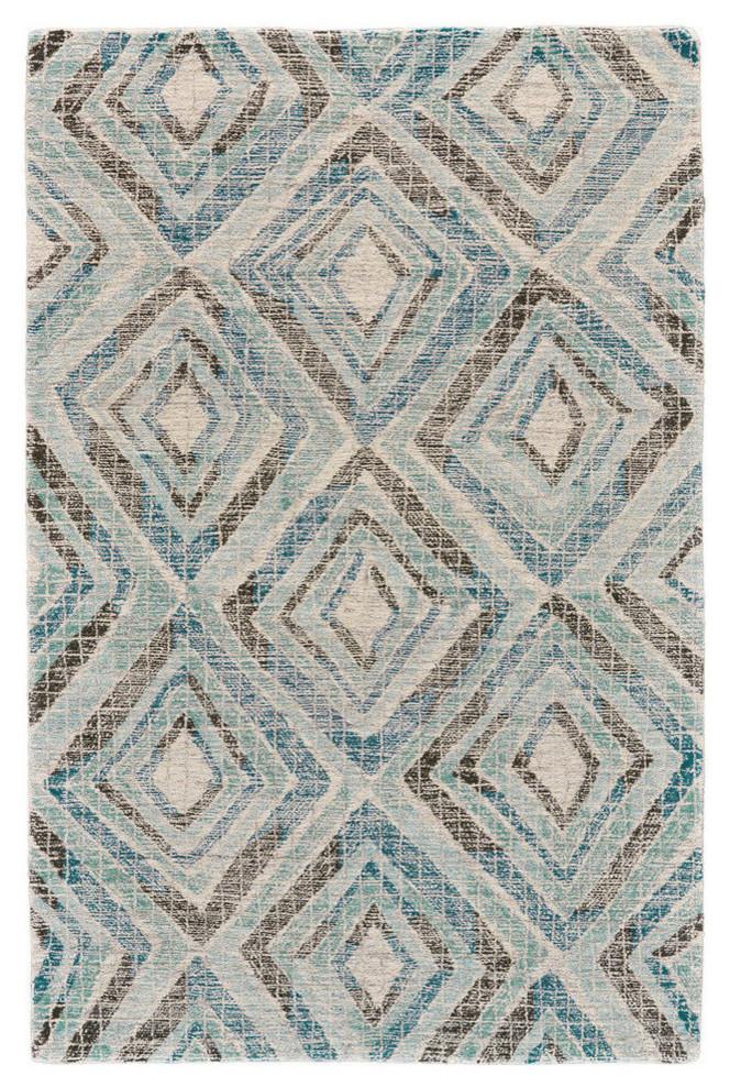 Weave & Wander Binada Rug, Blue