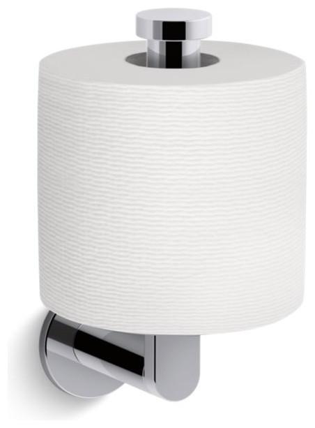 Kohler Composed Vertical Toilet Tissue Holder Polished Chrome