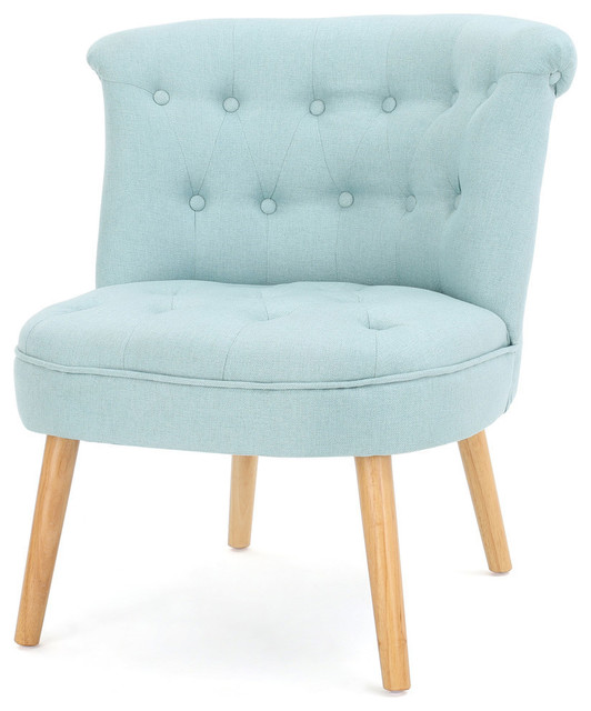 Gdf Studio Donna Plush Modern Tufted Accent Chair