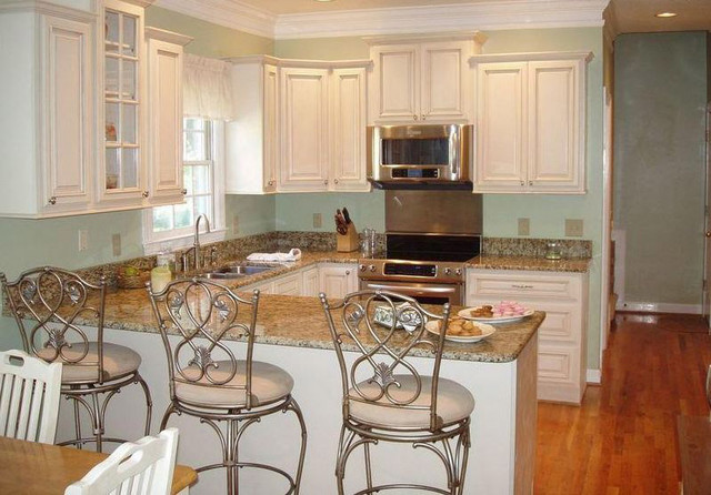 Antique White Kitchen Cabinets Home Design Modern Columbus By
