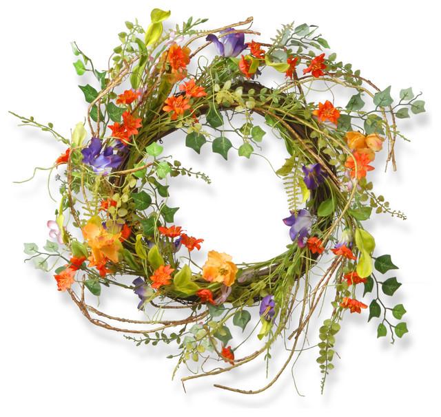"22"" Morning Gloring Wreath"