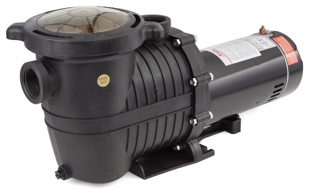 1 5hp Inground Swimming Pool Pump Motor Strainer 230v Hayward Replacement Traditional Pool Pumps And Filters By Stark Group Llc