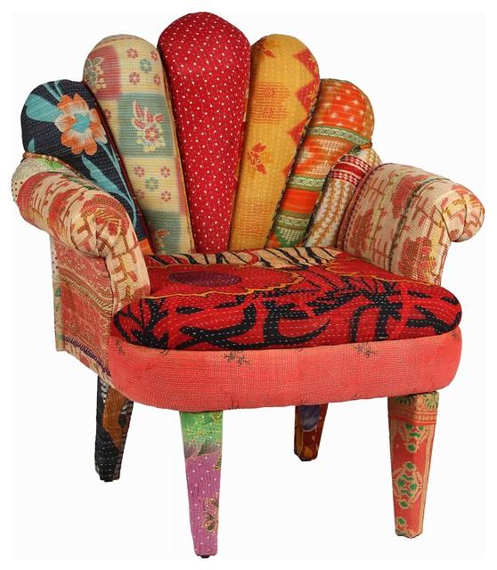 "KARMA LIVING Peacock Chair 29X20X33"" Armchairs And"