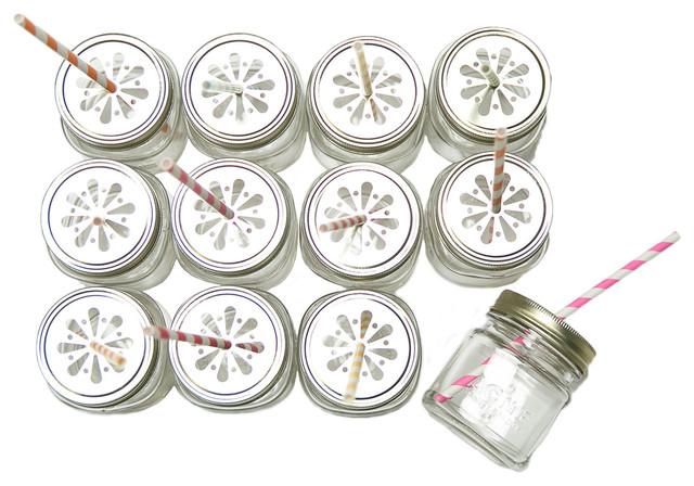 Box of 12 Mason Jar Petite Sippers