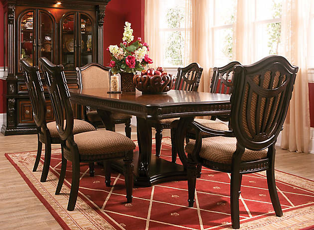 Dining Set traditional dining room. Grand Estates 7 pc  Dining Set