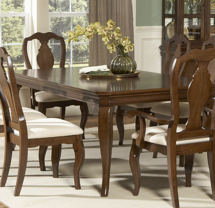 . Convert Louis Philippe dining set from traditional to more casual