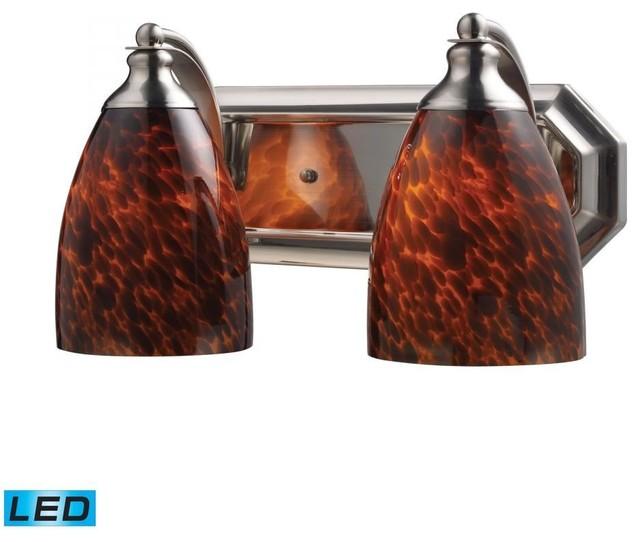 Houzz Bathroom Lighting Fixtures: Elk Lighting Vanity 2-Light Bathroom Lighting Fixture