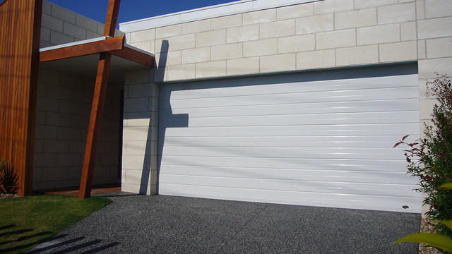 Glacier Garage Doors Modern Brisbane By Steel Line Garage Doors