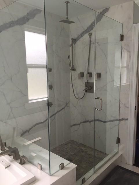 Porcelain Slab Shower wall