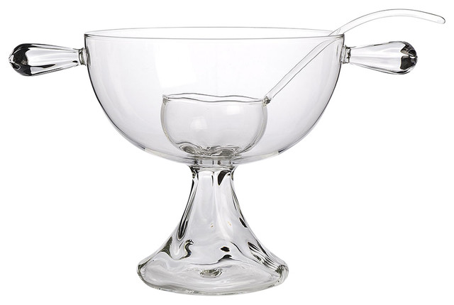 Raluca Punch Bowl and Ladle Set