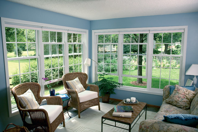 Double Hung Windows Traditional Porch Minneapolis