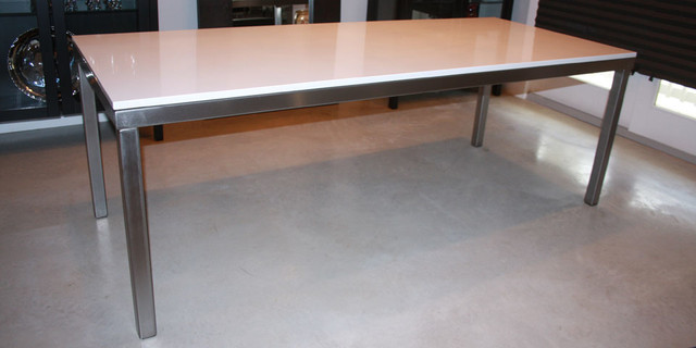 Modern Silestone Dining Table