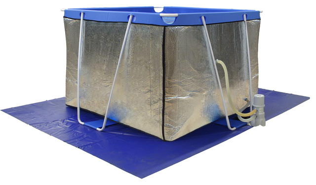 Therapy Pool Insulation Wrap.