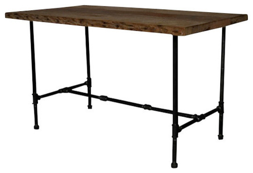 Beautiful reclaimed wood table Is this counter height or  : dining tables from www.houzz.com size 500 x 342 jpeg 21kB