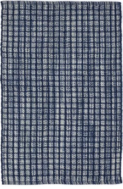 Dash And Albert Coco Blue Indoor Or Outdoor Rug Contemporary