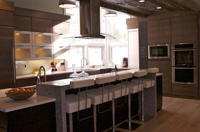 Modern Kitchen Counters modern kitchen counters. modern kitchen counters white with brown