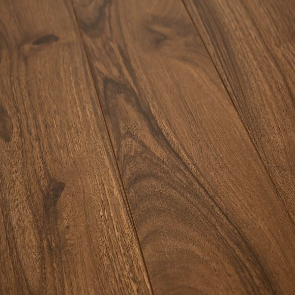 Armstrong Grand Illusions Heartwood Walnut 12 Mm. Laminate Flooring Sample  Traditional Laminate Flooring