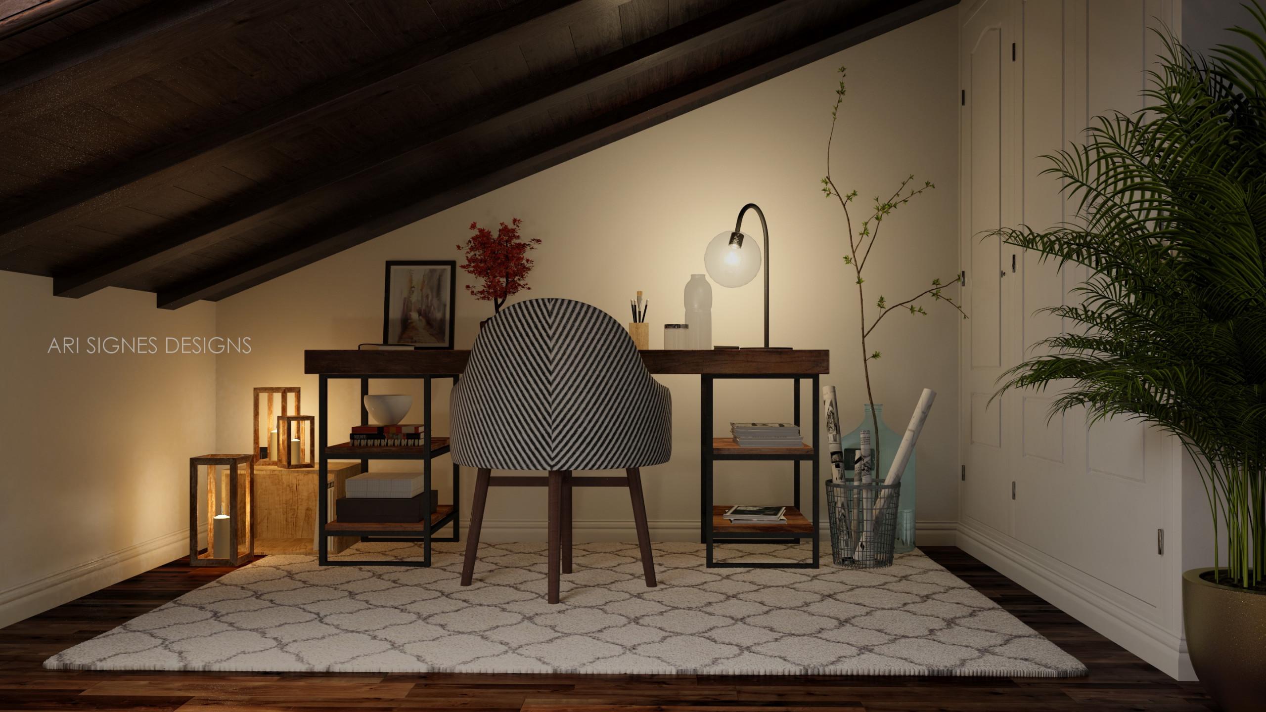 Proyecto de Interiorismo  Buhardilla -