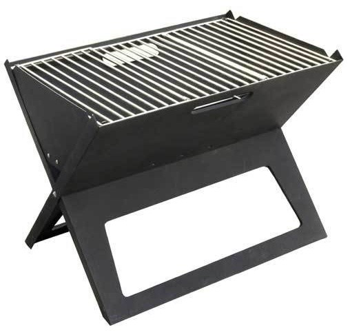 Black Notebook Charcoal Grill.