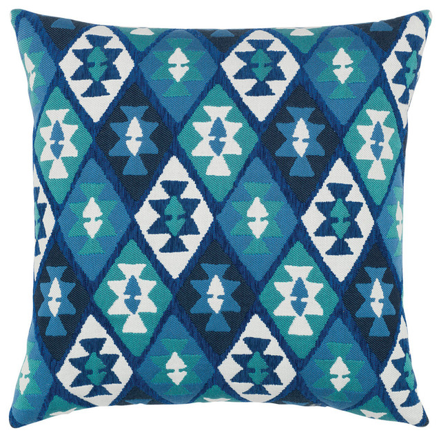 Elaine Smith Canyon Diamond Lake Pillow - Scandinavian - Outdoor Cushions And Pillows - by ...