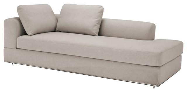Canyon Modern Classic Panama Natural Left Arm Sofa