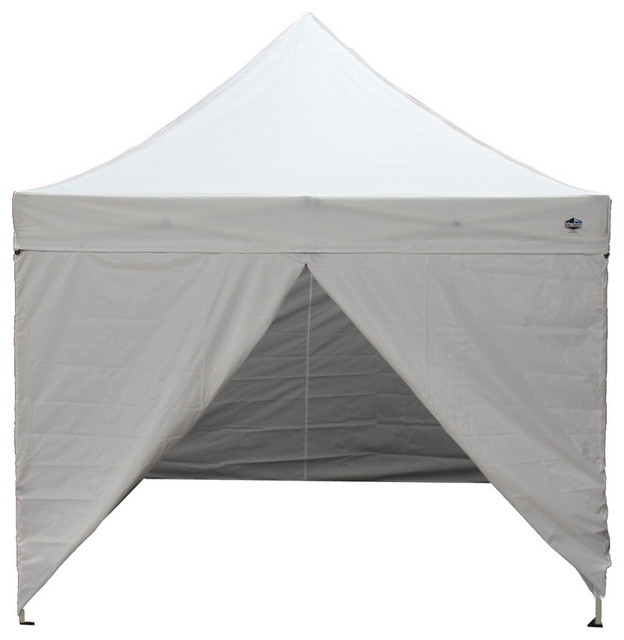 Instant King Canopy White Tuff Tent Contemporary