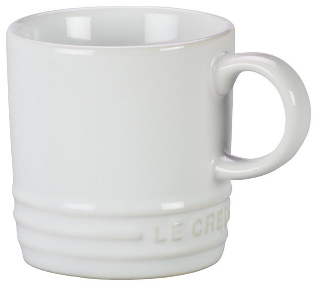 Le Creuset Stoneware Petite Espresso Mug, 3.5-Ounce.