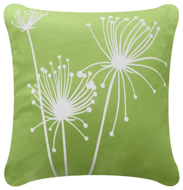 Papyrus Organic Cotton Decorative Pillow Cover Apple Green New Apple Green Decorative Pillows