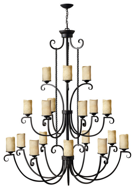 Hinkley Casa Chandelier Extra Large Three Tier