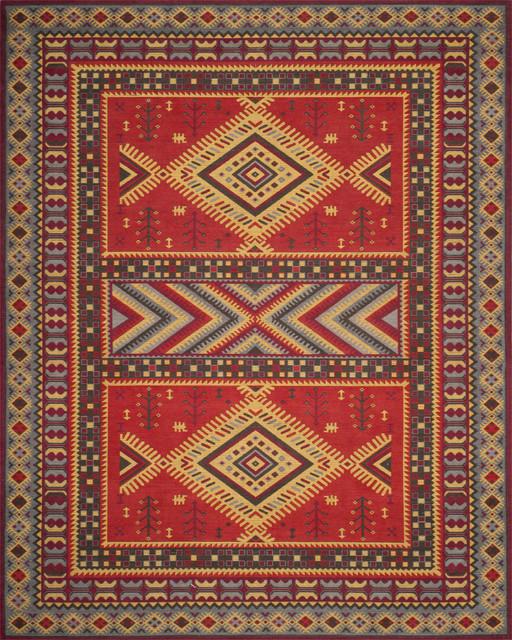 Safavieh Classic Vintage Clv511g Red Slate Rug