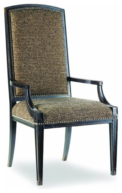 Brigade Armchair, Black And Gold